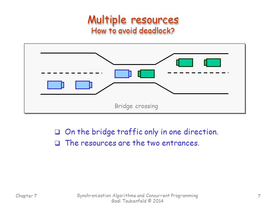 Multiple resources How to avoid deadlock