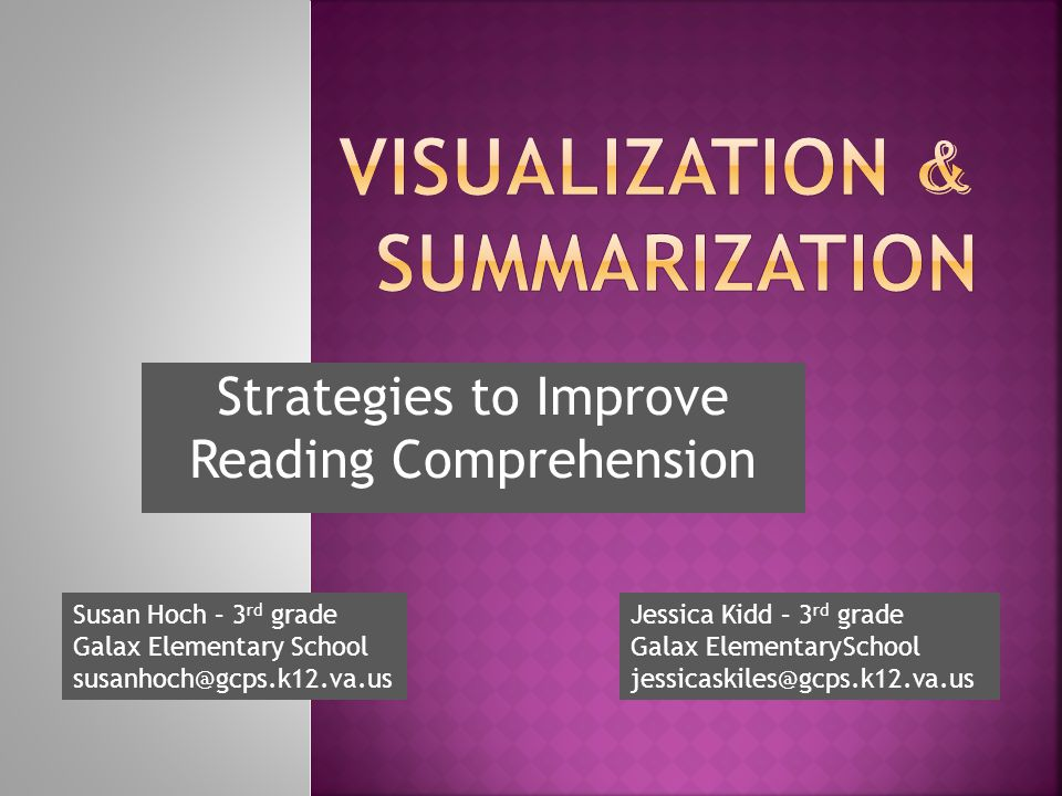 Visualization & Summarization