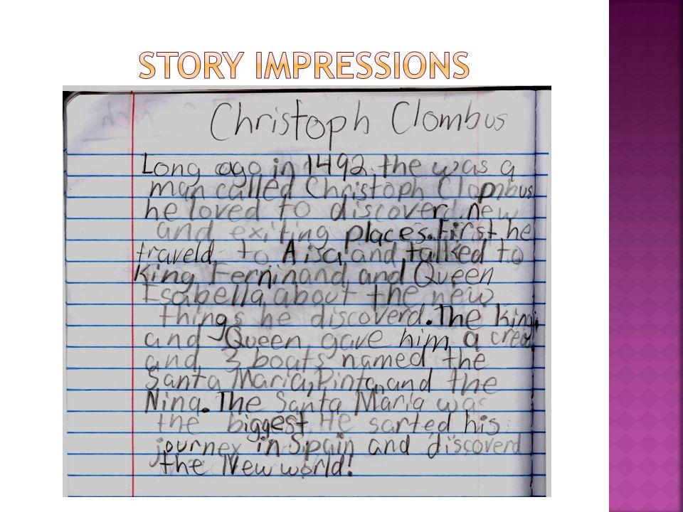 Story impressions