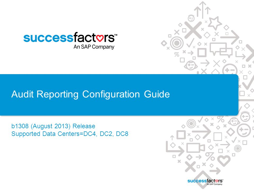 Audit Reporting Configuration Guide