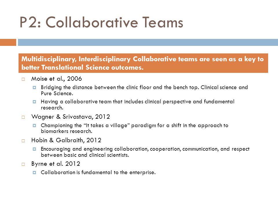 P2: Collaborative Teams