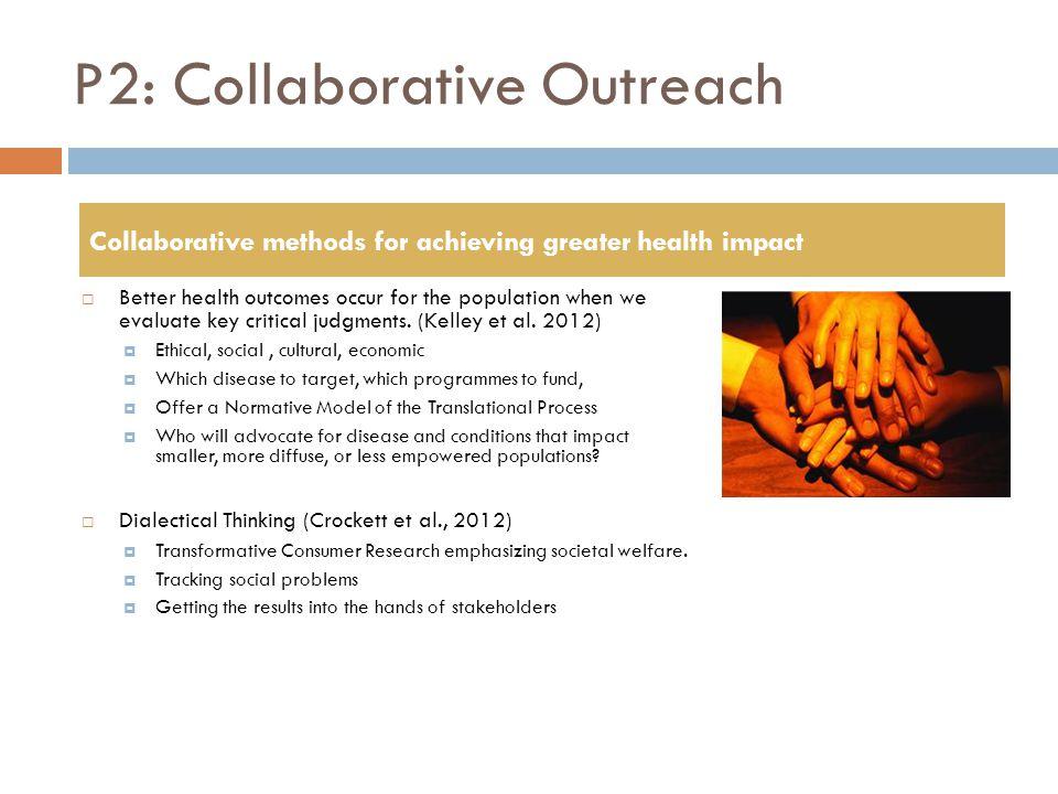 P2: Collaborative Outreach