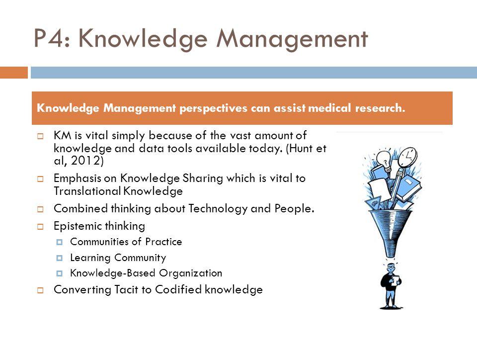 P4: Knowledge Management