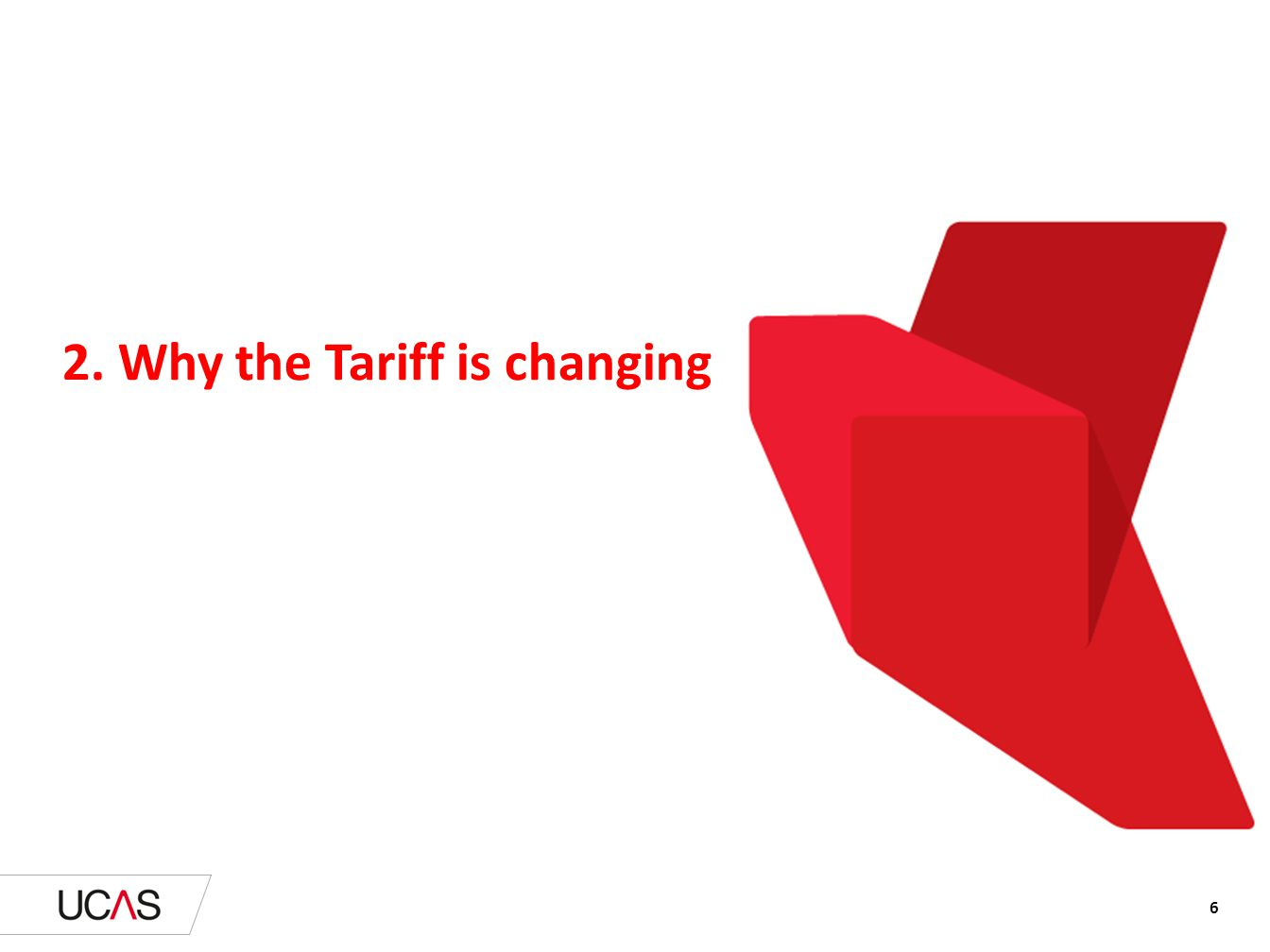 2. Why the Tariff is changing
