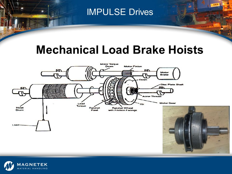 Mechanical Load Brake Hoists
