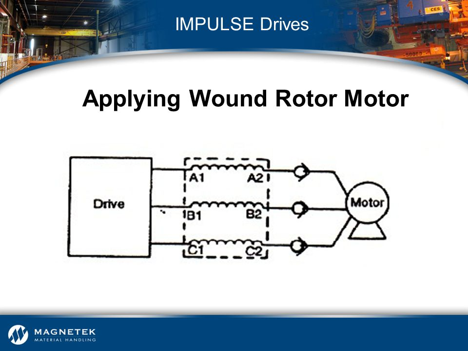 Applying Wound Rotor Motor