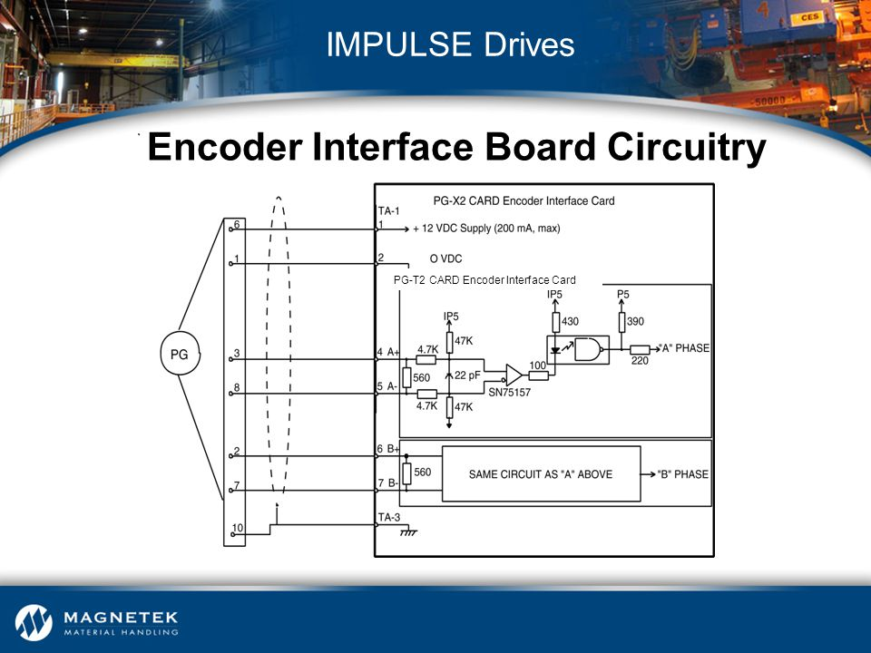 Encoder Interface Board Circuitry