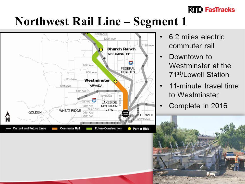 Northwest Rail Line – Segment 1