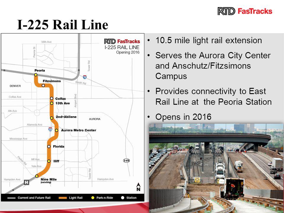 I-225 Rail Line 10.5 mile light rail extension