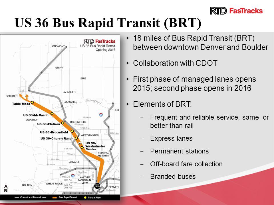 US 36 Bus Rapid Transit (BRT)