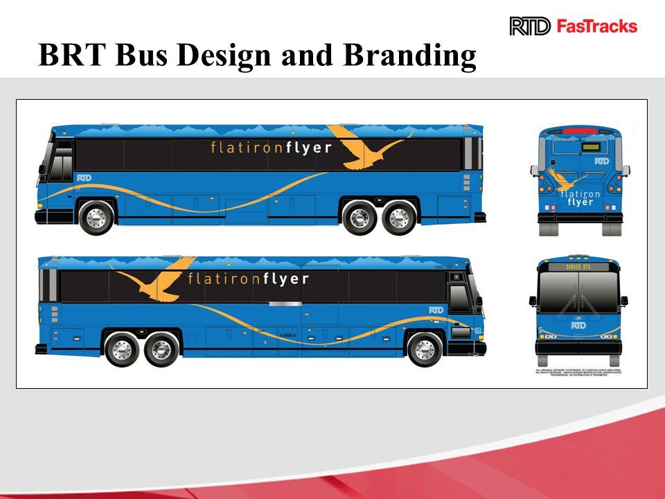 BRT Bus Design and Branding