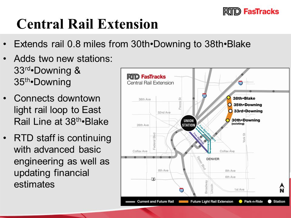 Central Rail Extension