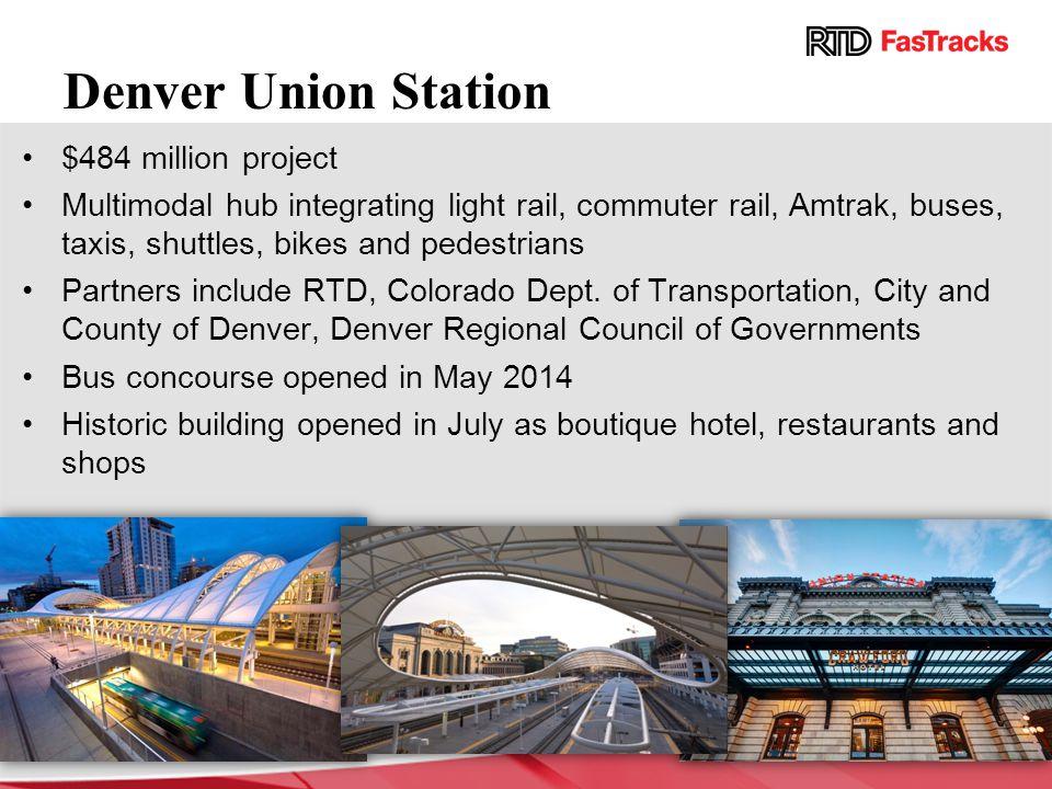 Denver Union Station $484 million project