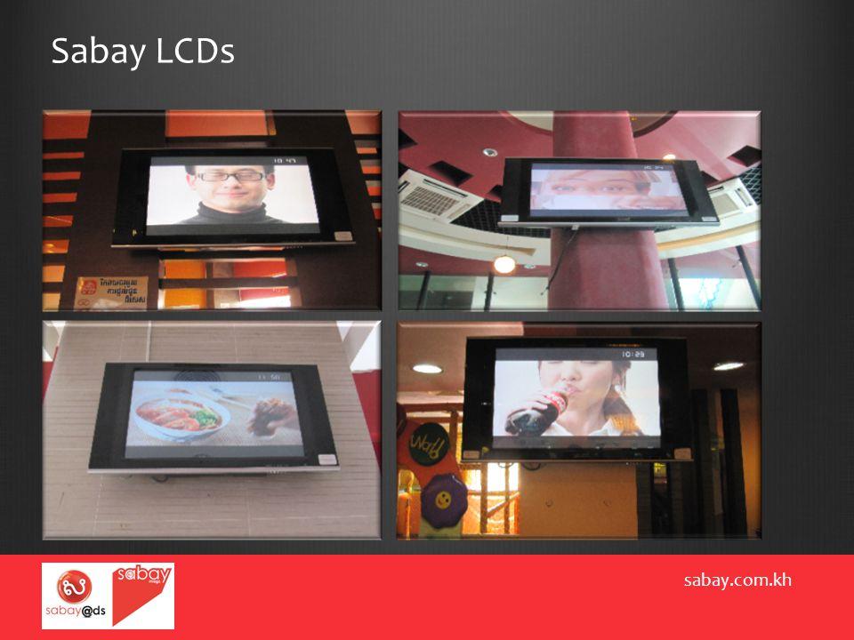Sabay LCDs sabay.com.kh