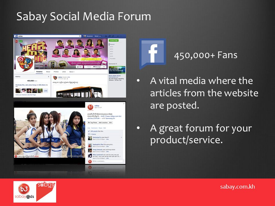 Sabay Social Media Forum