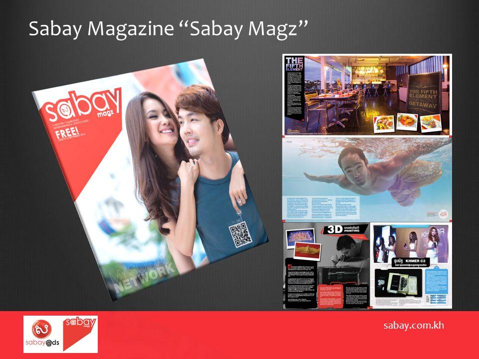 Sabay Magazine Sabay Magz