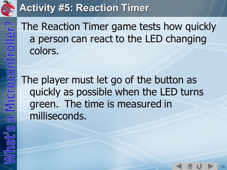 Activity #5: Reaction Timer