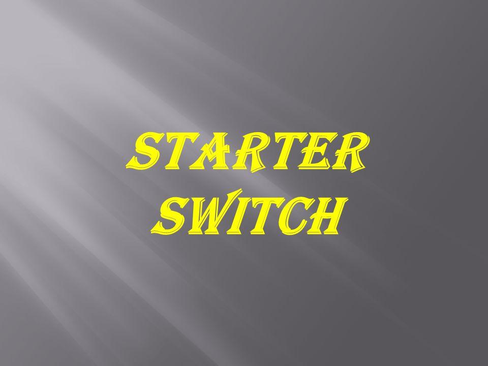 Starter Switch