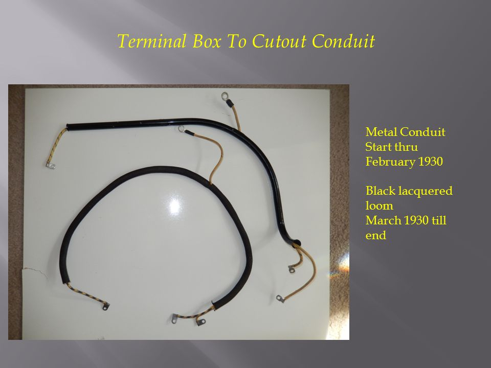 Terminal Box To Cutout Conduit