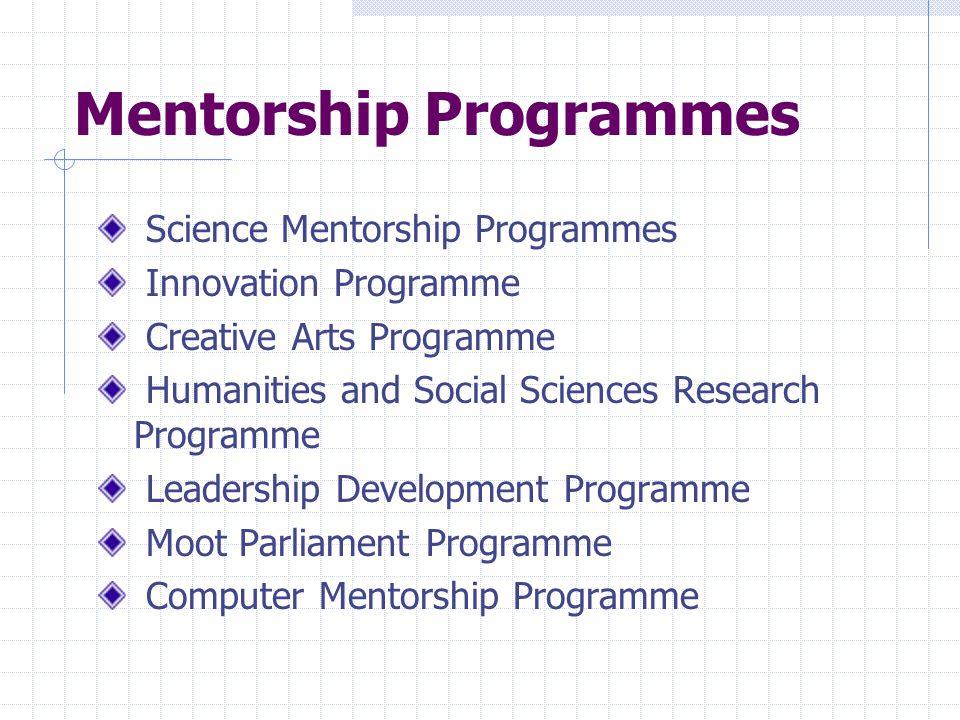 Mentorship Programmes
