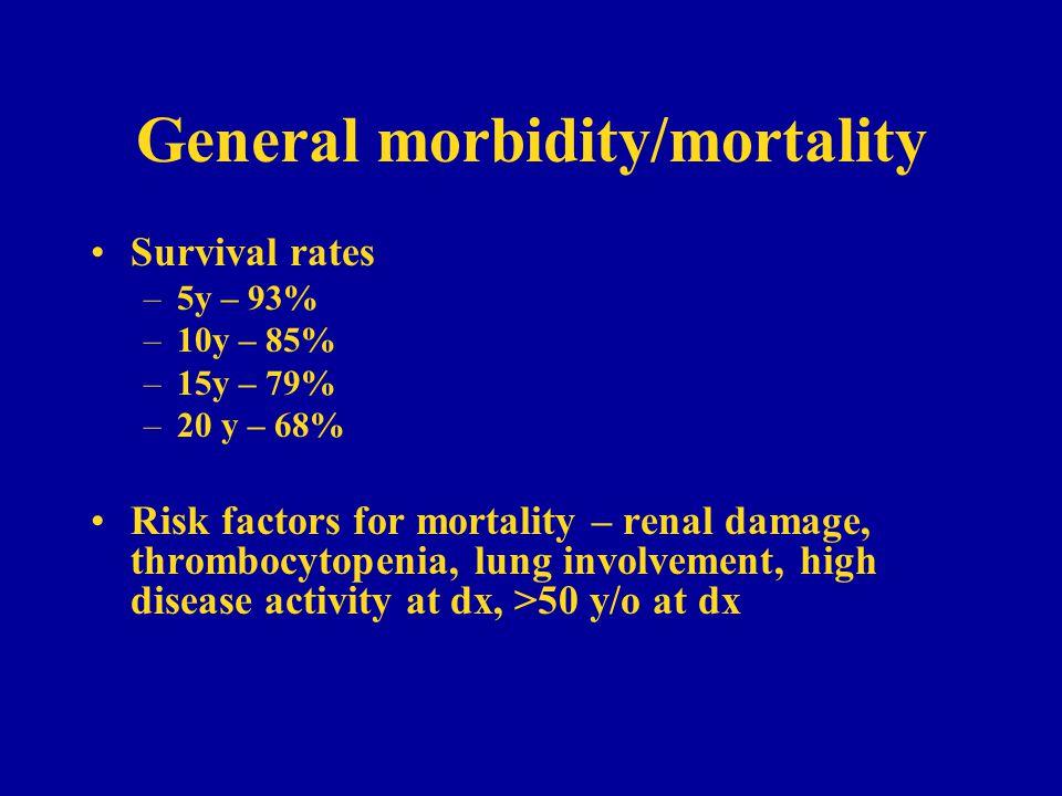 General morbidity/mortality