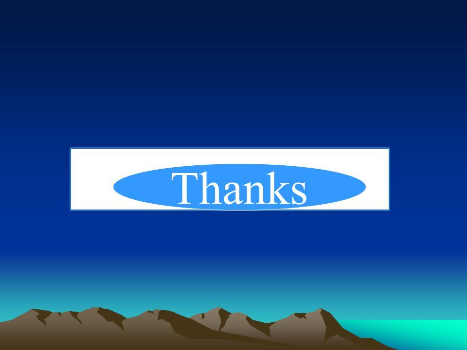 Thanks… Thanks Thanks