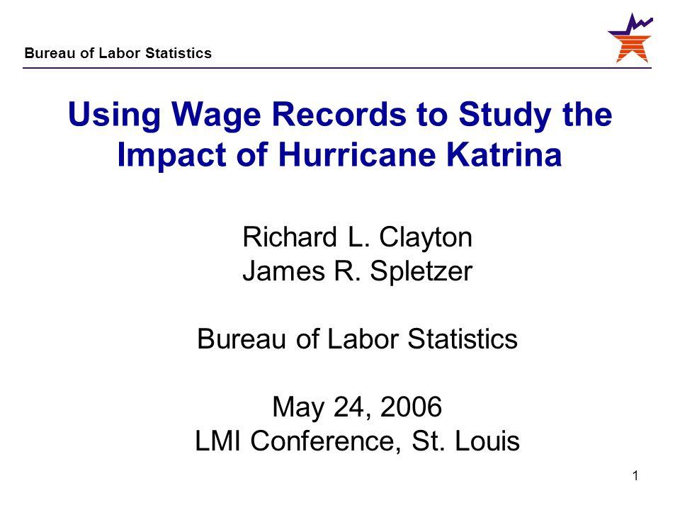 Using Wage Records to Study the Impact of Hurricane Katrina