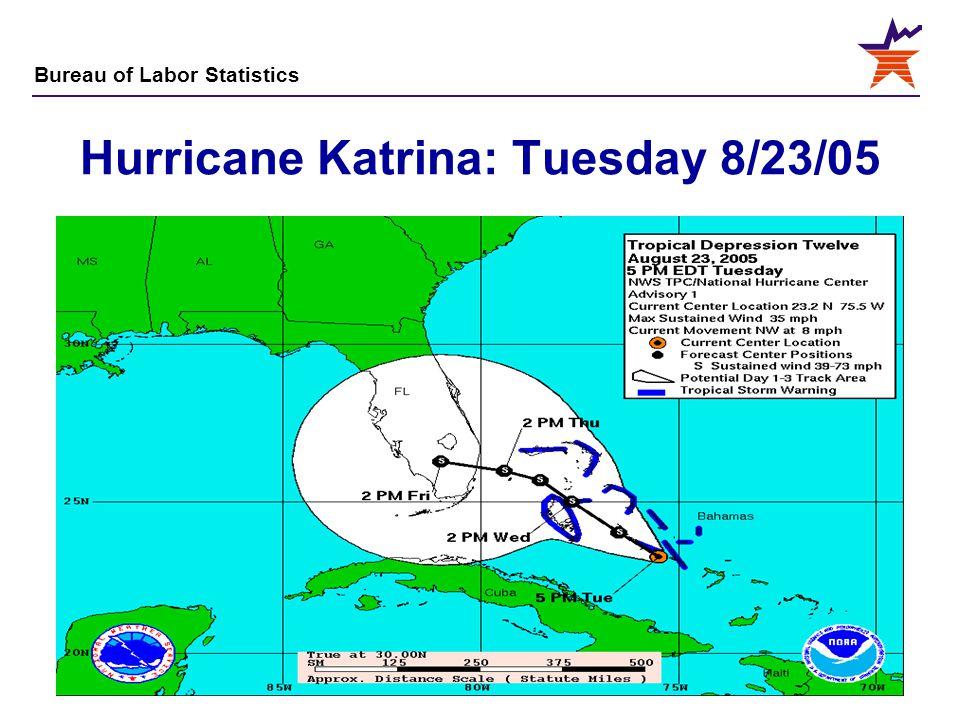Hurricane Katrina: Tuesday 8/23/05