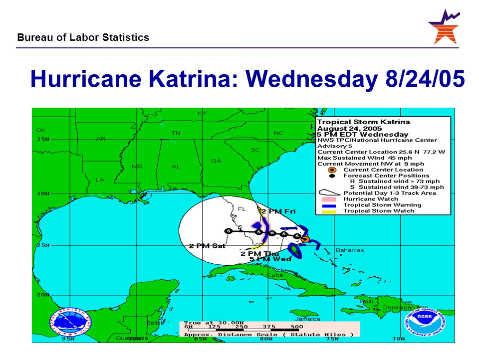 Hurricane Katrina: Wednesday 8/24/05