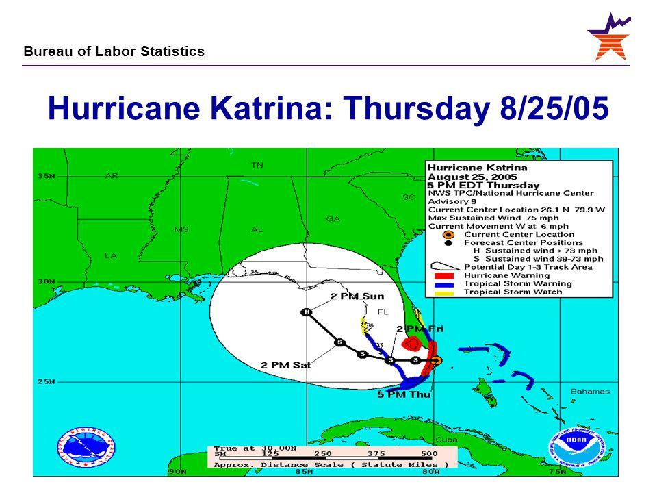 Hurricane Katrina: Thursday 8/25/05