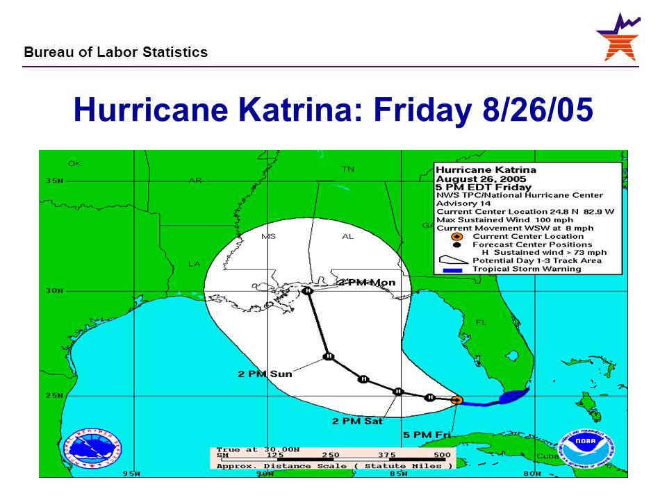 Hurricane Katrina: Friday 8/26/05