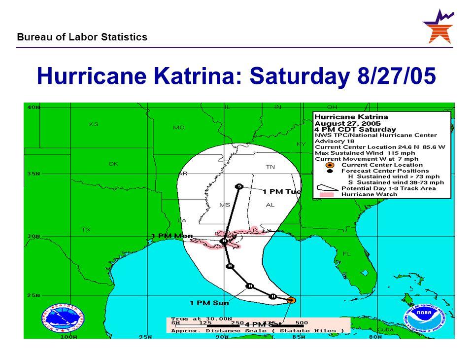 Hurricane Katrina: Saturday 8/27/05