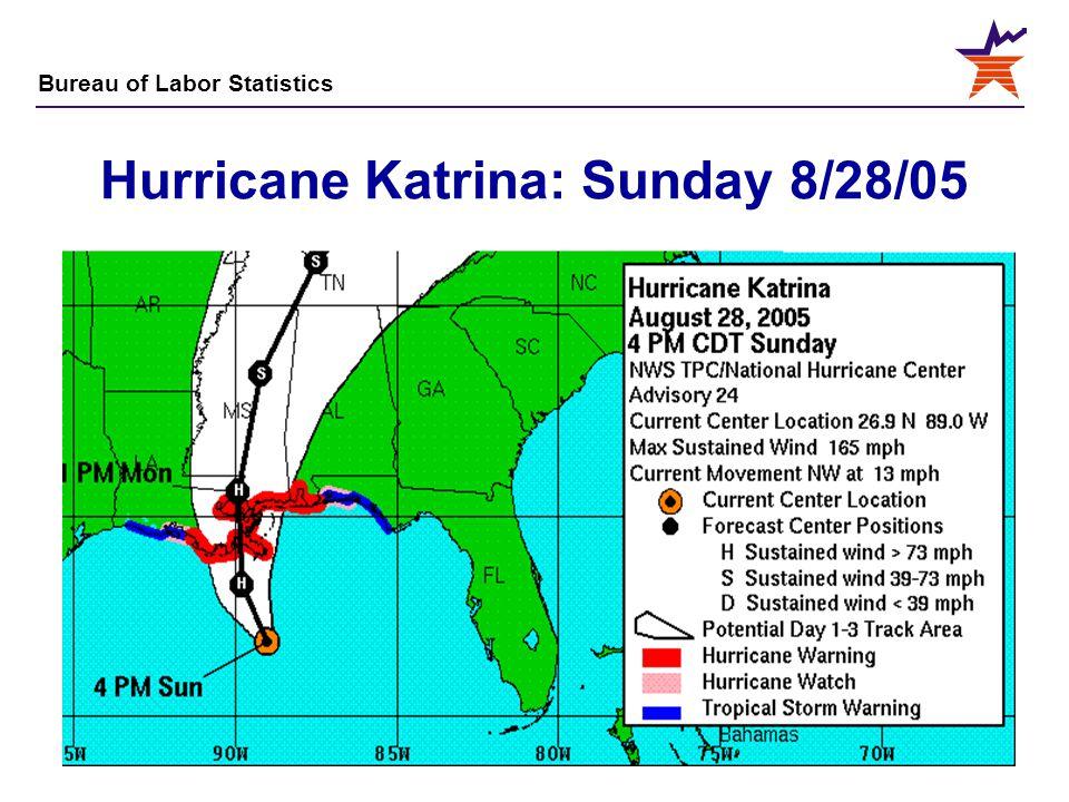 Hurricane Katrina: Sunday 8/28/05