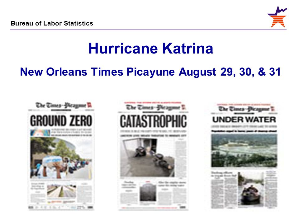 Hurricane Katrina New Orleans Times Picayune August 29, 30, & 31