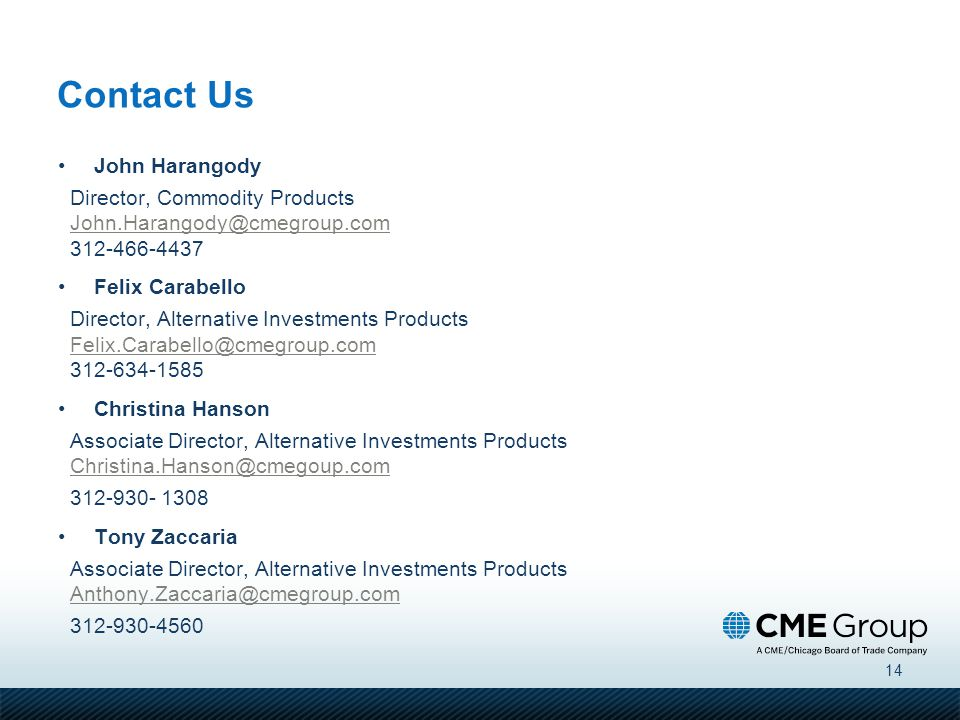 Contact Us John Harangody