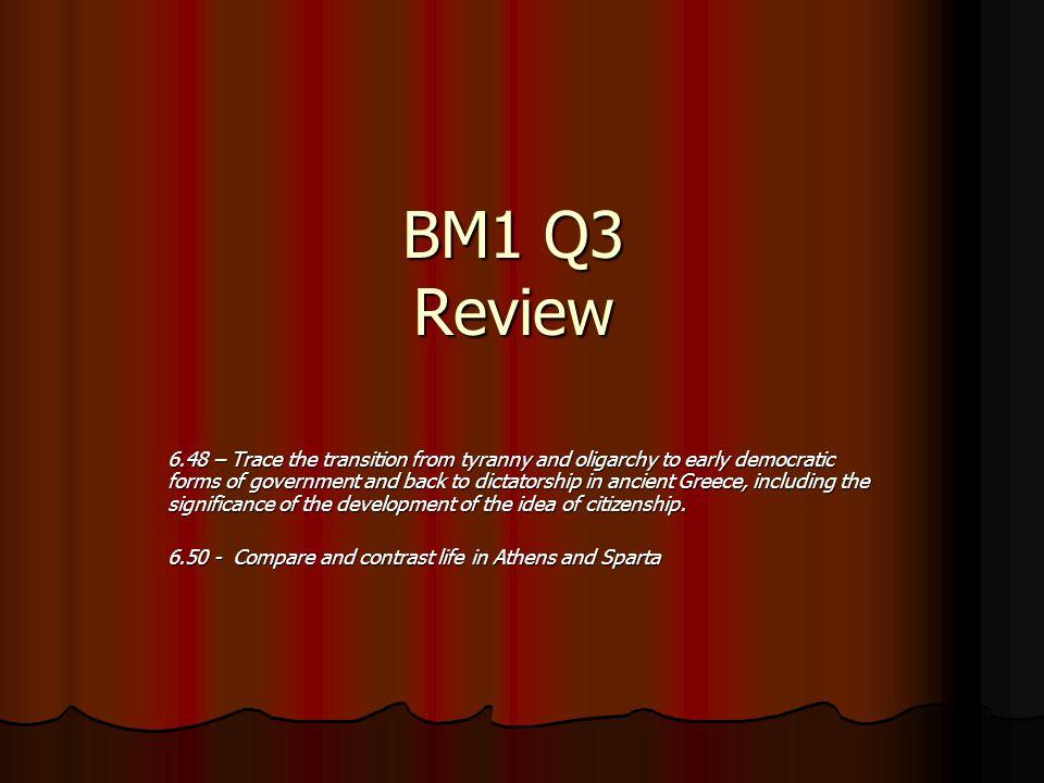 BM1 Q3 Review