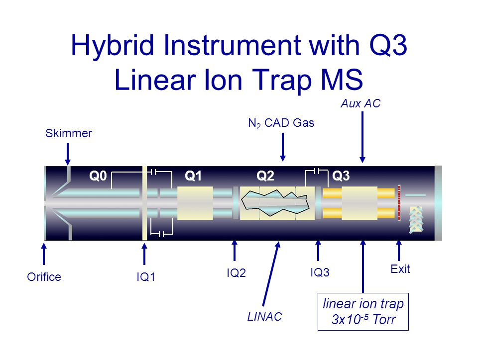 Hybrid Instrument with Q3 Linear Ion Trap MS