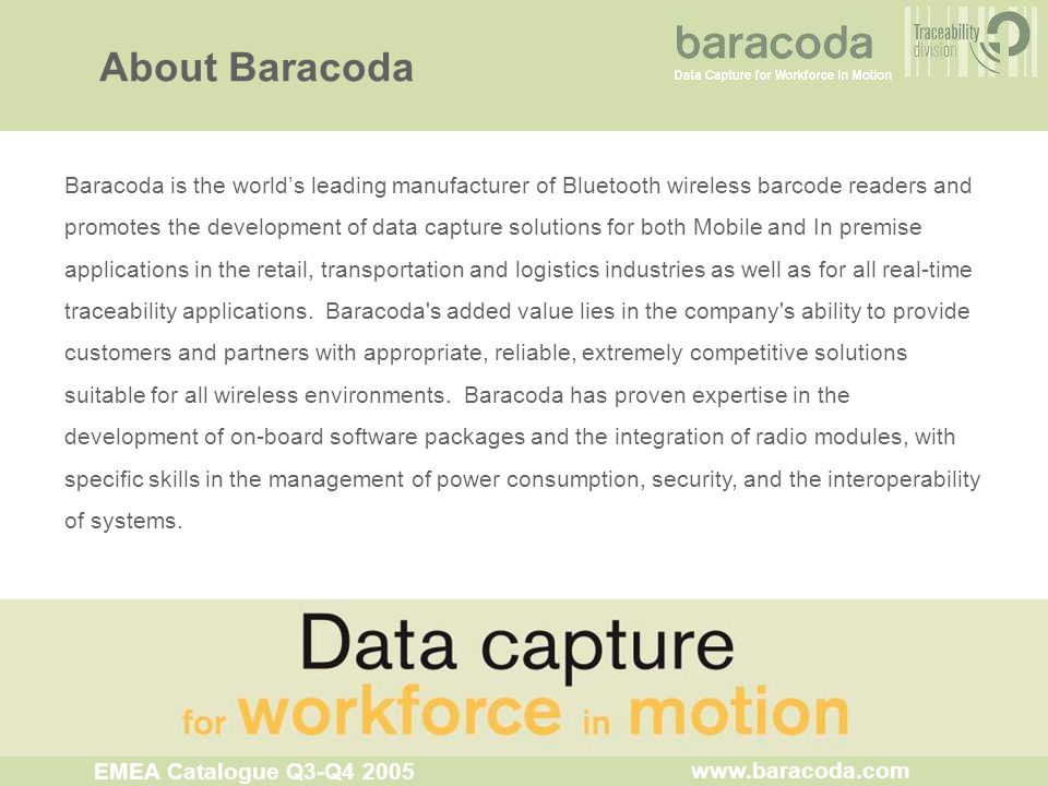 About Baracoda