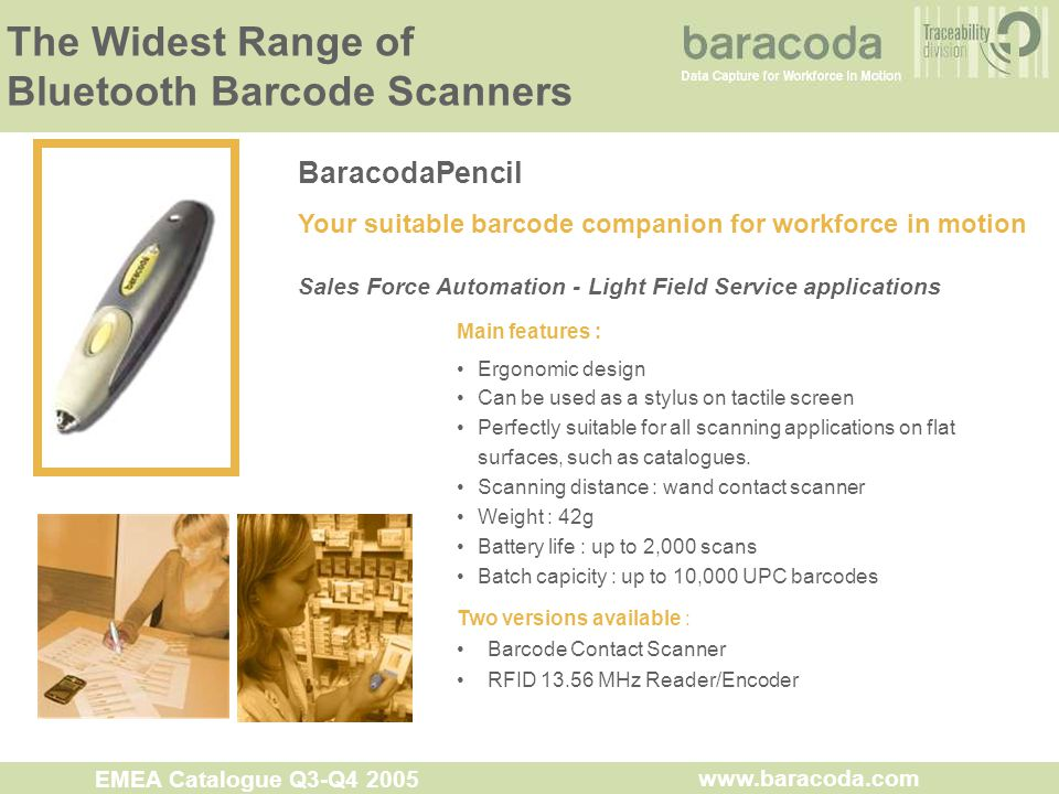 The Widest Range of Bluetooth Barcode Scanners