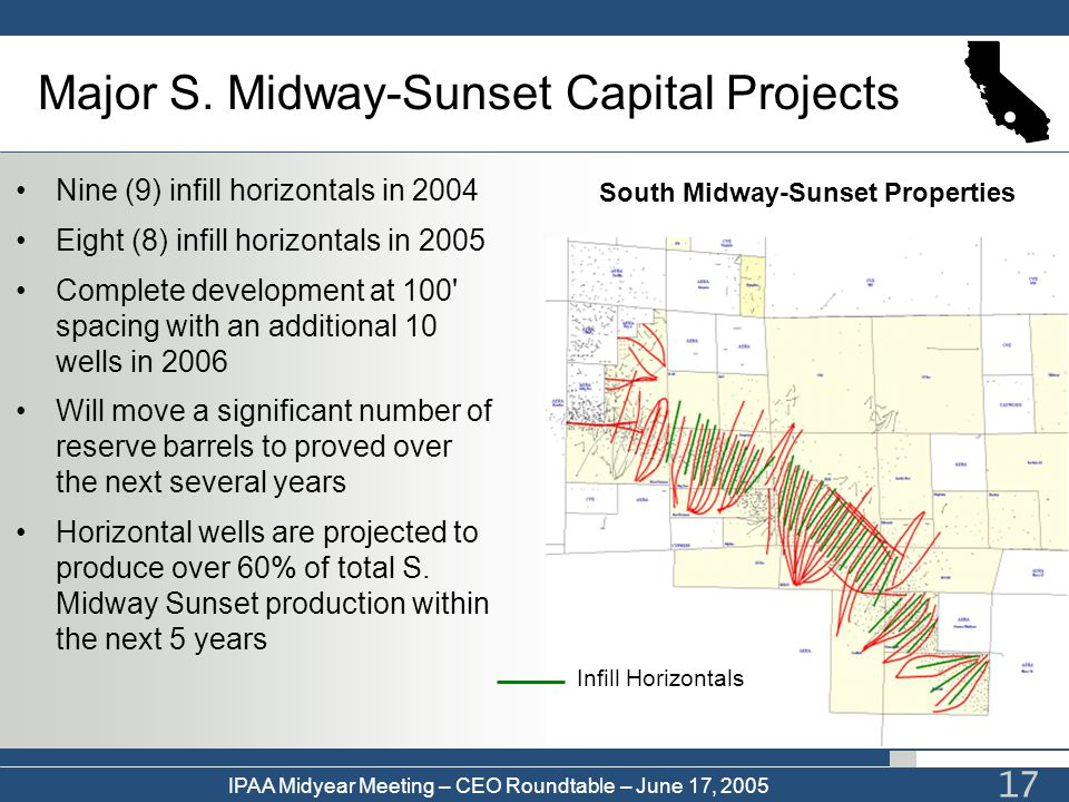 Major S. Midway-Sunset Capital Projects