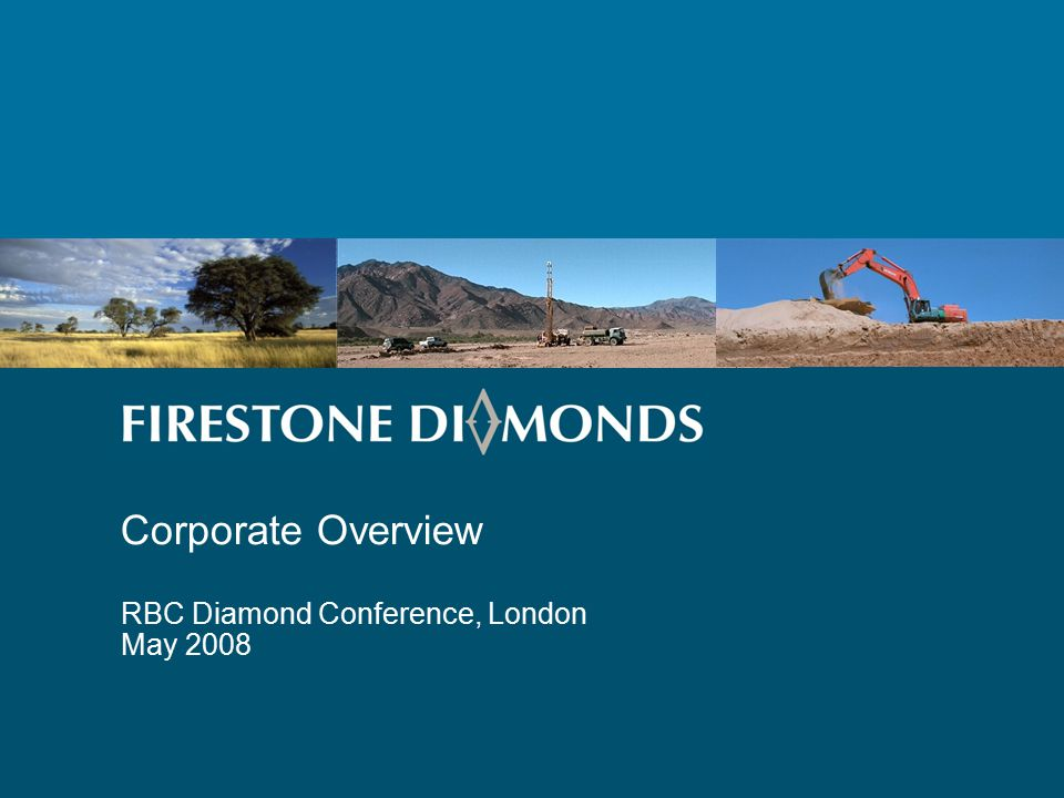 Topics 1 Company Background 2 Diamond Exploration Worldwide 3