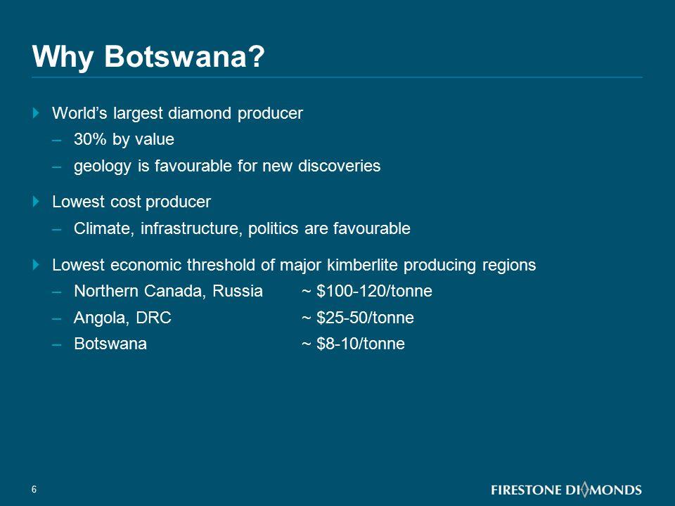 Botswana Kimberlite Fields