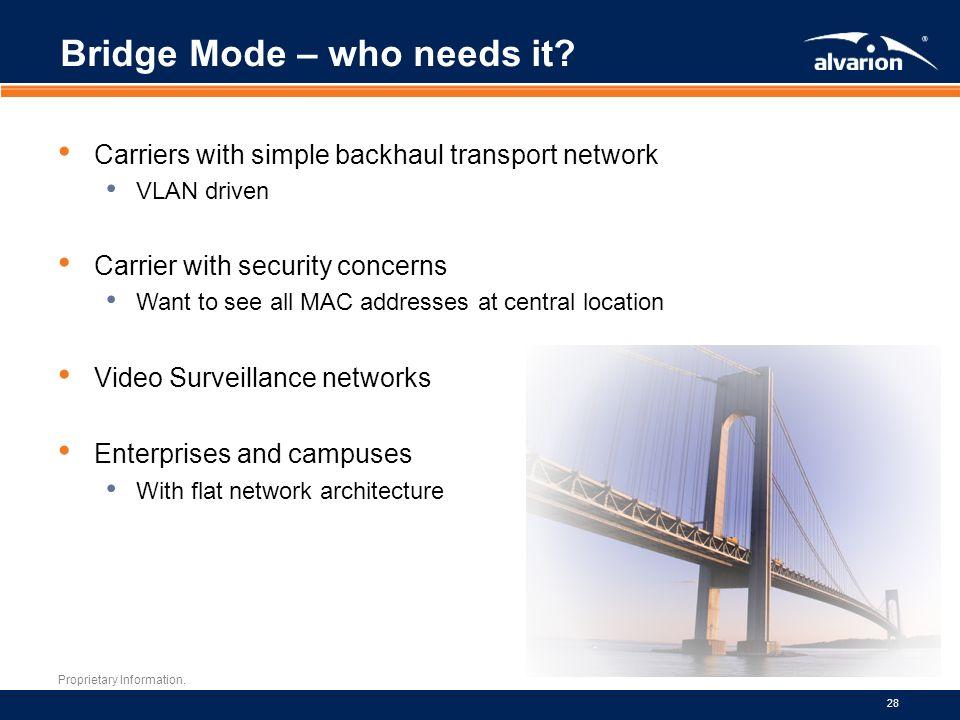 Bridge Mode – who needs it