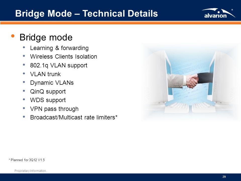 Bridge Mode – Technical Details