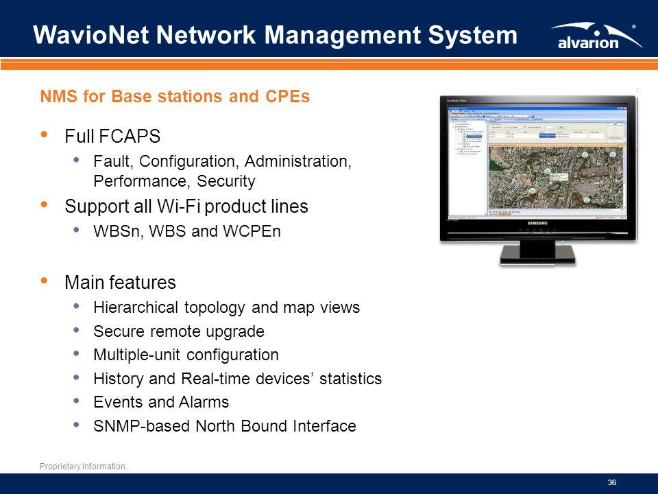 WavioNet Network Management System