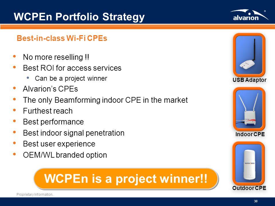 WCPEn Portfolio Strategy