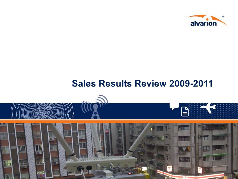 Sales Results Review 2009-2011