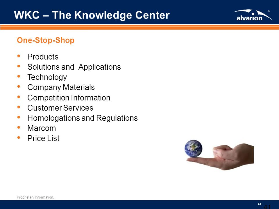 WKC – The Knowledge Center