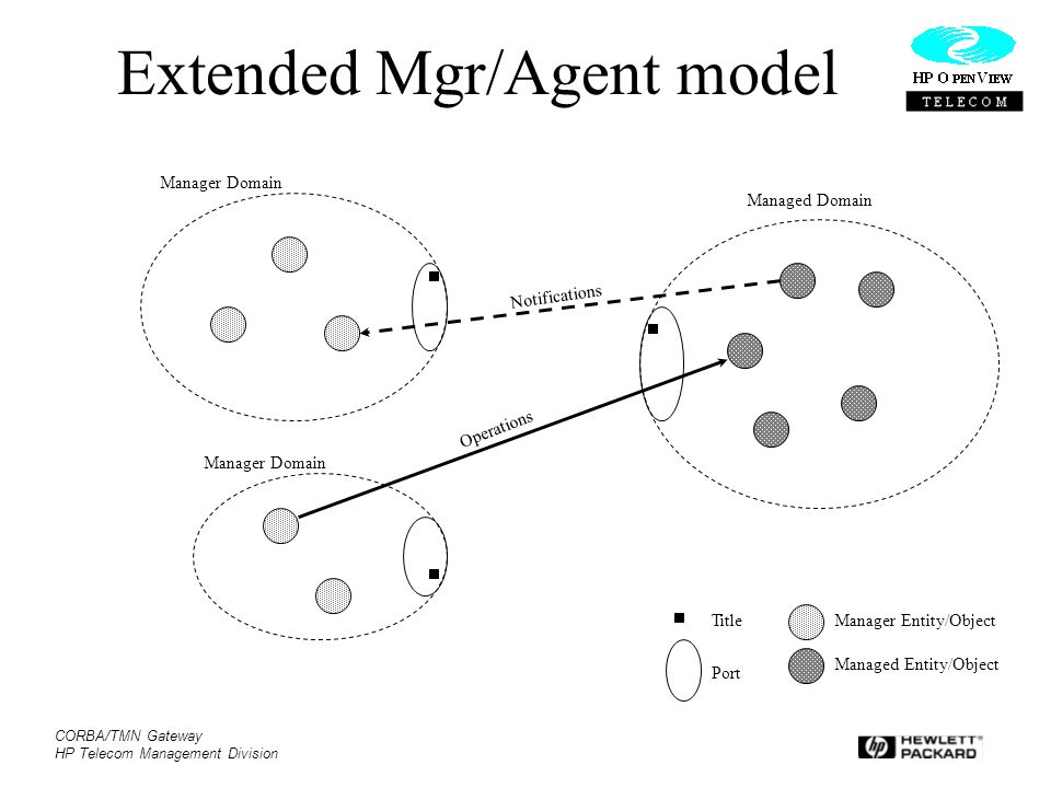 Extended Mgr/Agent model