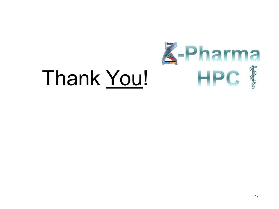 -Pharma HPC Thank You!